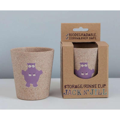 Jack N' Jill - Rinse/Storage Cup Hippo
