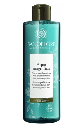 Sanoflore - Aqua Magnifica Skin-Perfecting Purifying Peppermint Toner 400ml