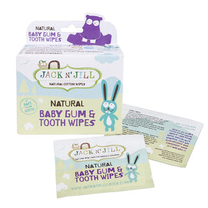 Jack N' Jill - Gum & Tooth Wipes