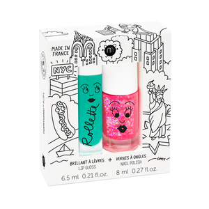 Nailmatic - New York Lip Rolette and Polish Duo Set