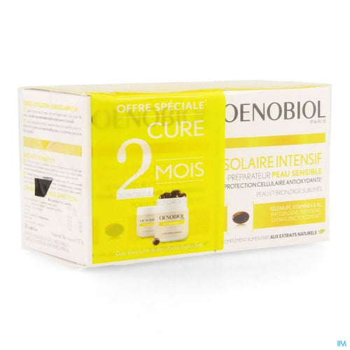 Oenobiol - Intensive Solar sensitive Skin 2 X 30 Capsules