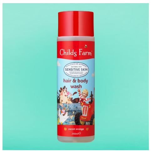 Childs Farm - Hair & Body Wash, Sweet Orange 250ml
