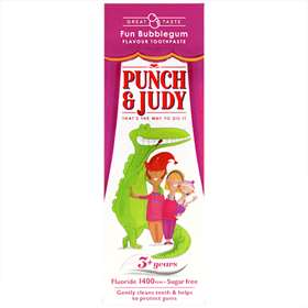 Punch judy -  Bubblegum Toothpaste