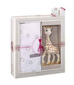 Sophie la Girafe - Sophiesticated Swaddle Set