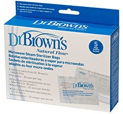 Dr Browns - Microwave Steam Steriliser Bags