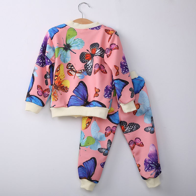 27f8d0047ef8 2016 Children Spring Autumn 2PCS Clothing Baby Girls Toddlers Kids ...