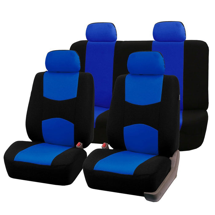 Car Seat Covers Full Set Universal Fit Accessories Auto Protectors Styling Gray
