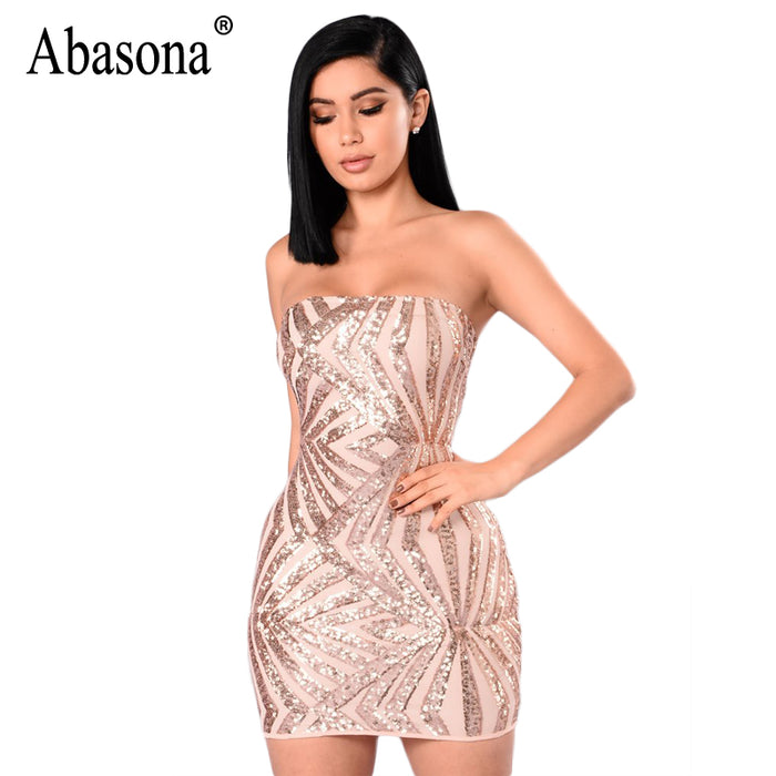 fc0edc94168 Women Sequin Dress Sexy Evening Party Dresses Off Shoulder Geometric  Embroidery Gold Bodycon Pencil Dress Female