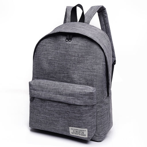 44739b0c7ca4 Bacisco Canvas Backpack Women Men Large Capacity Laptop Backpack Student School  Bags for Teenagers Travel Backpacks