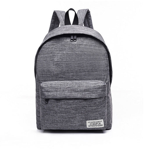 Brand Canvas Men Women Backpack College High Middle School Bags For Teenager  Boy Girls Laptop Travel bcca261de9