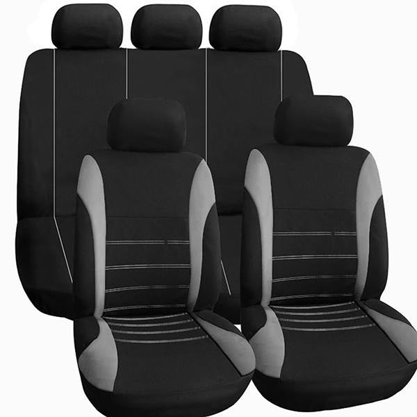 Car Seat Covers Universal Fit Polyester 2MM Composite Sponge Styling Automobile Protection