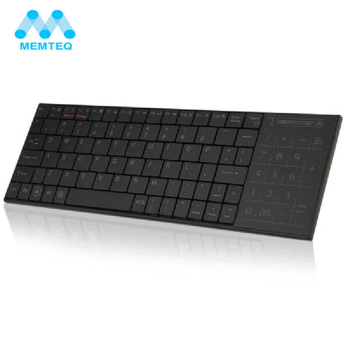 Memteq Qwerty Wireless Mini Bluetooth Keyboard Touchpad For Laptop