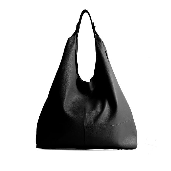 f722b3f6f32e MONFERE fashion genuine leather women bag casual HOBO shoulder bags soft  large bucket shopping bags first