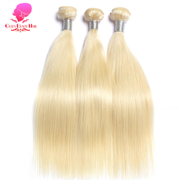 Hair 613 Blonde Hair Bundles Straight Human Hair Extension 12inch To