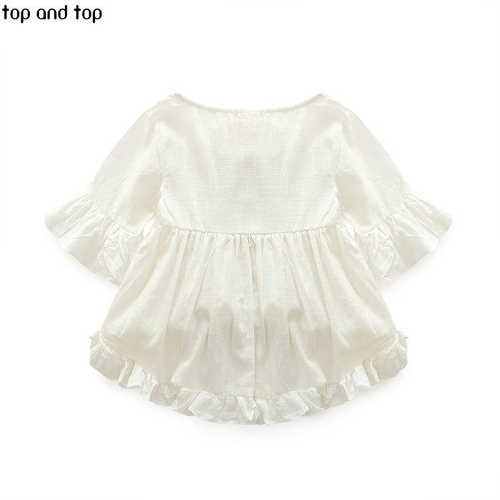 Top And Top High Quality New Fashion Girls Clothing Kids Clothes