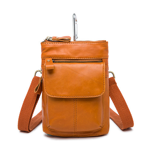 0034e822ff WESTAL Genuine Leather Bag Men Bags Leather Belt Waist Pack Men Messenger  Bags Male Phone Small