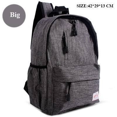 4450ebeb147c ZENBEFE Linen Small Backpack Unisex School Bags For Teenage School Backpack  For Students Backpacks Rucksack Bookbags