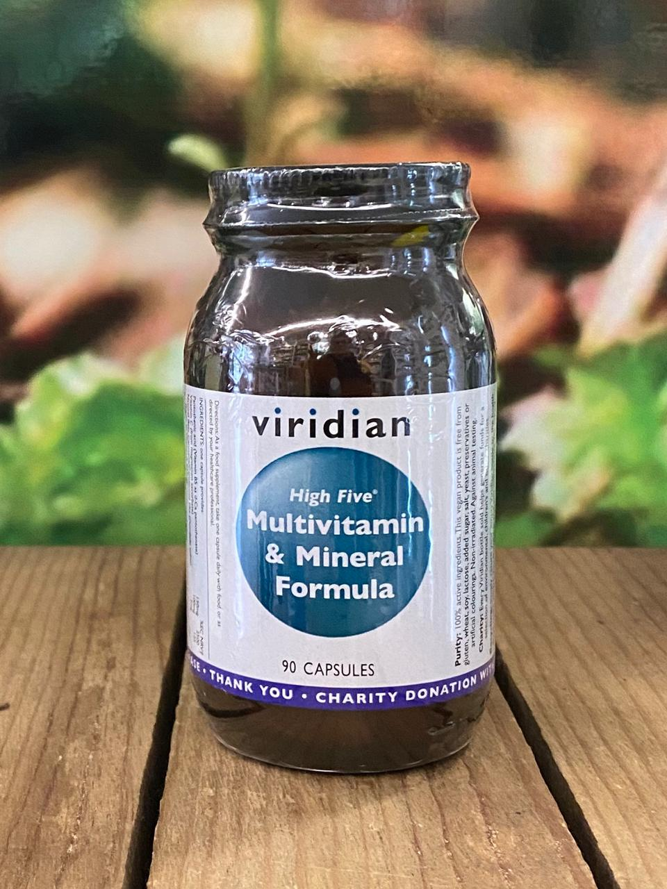 Viridian Multivitamin and Mineral Formula 90 capsules