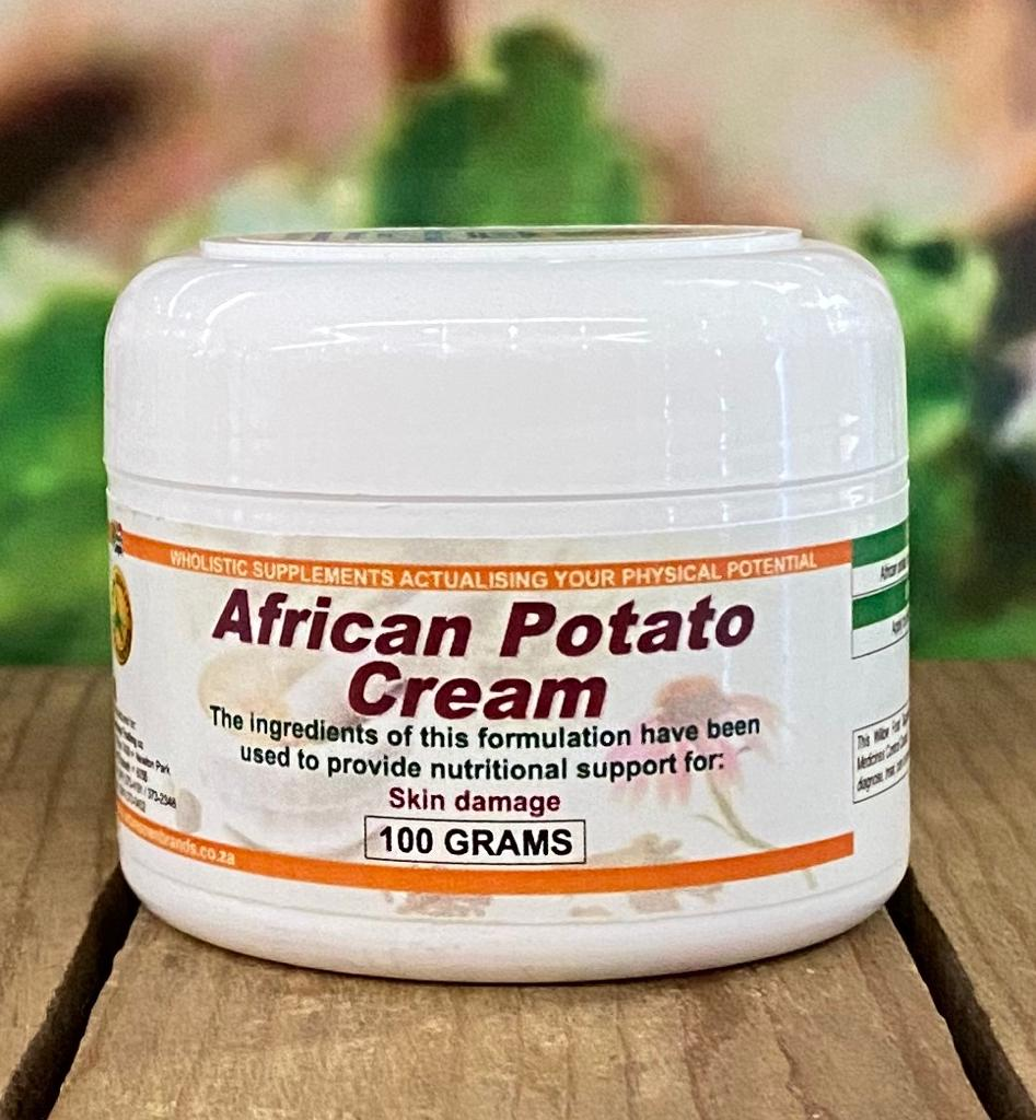 Willow African Potato Cream 100g