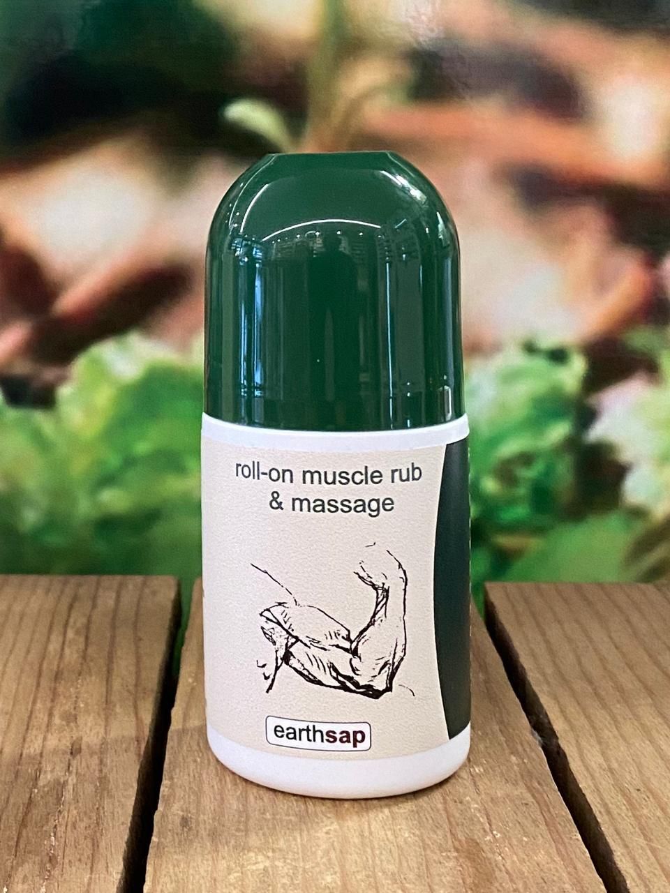 Muscle rub and massage roll on 50ml