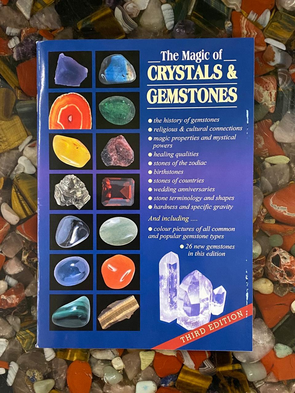 Crystals and Gemstones Book