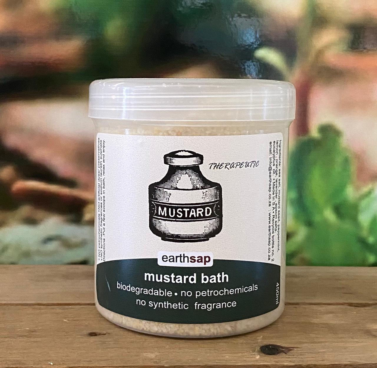 Bath Salt (mustard) 450ml
