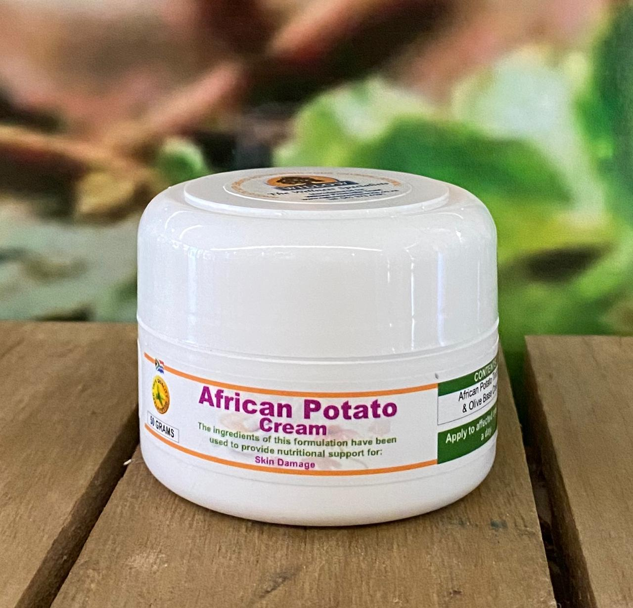 African Potato Cream 50g