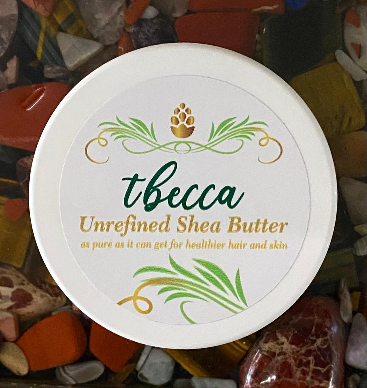 tbecca Unrefined shea butter 250g