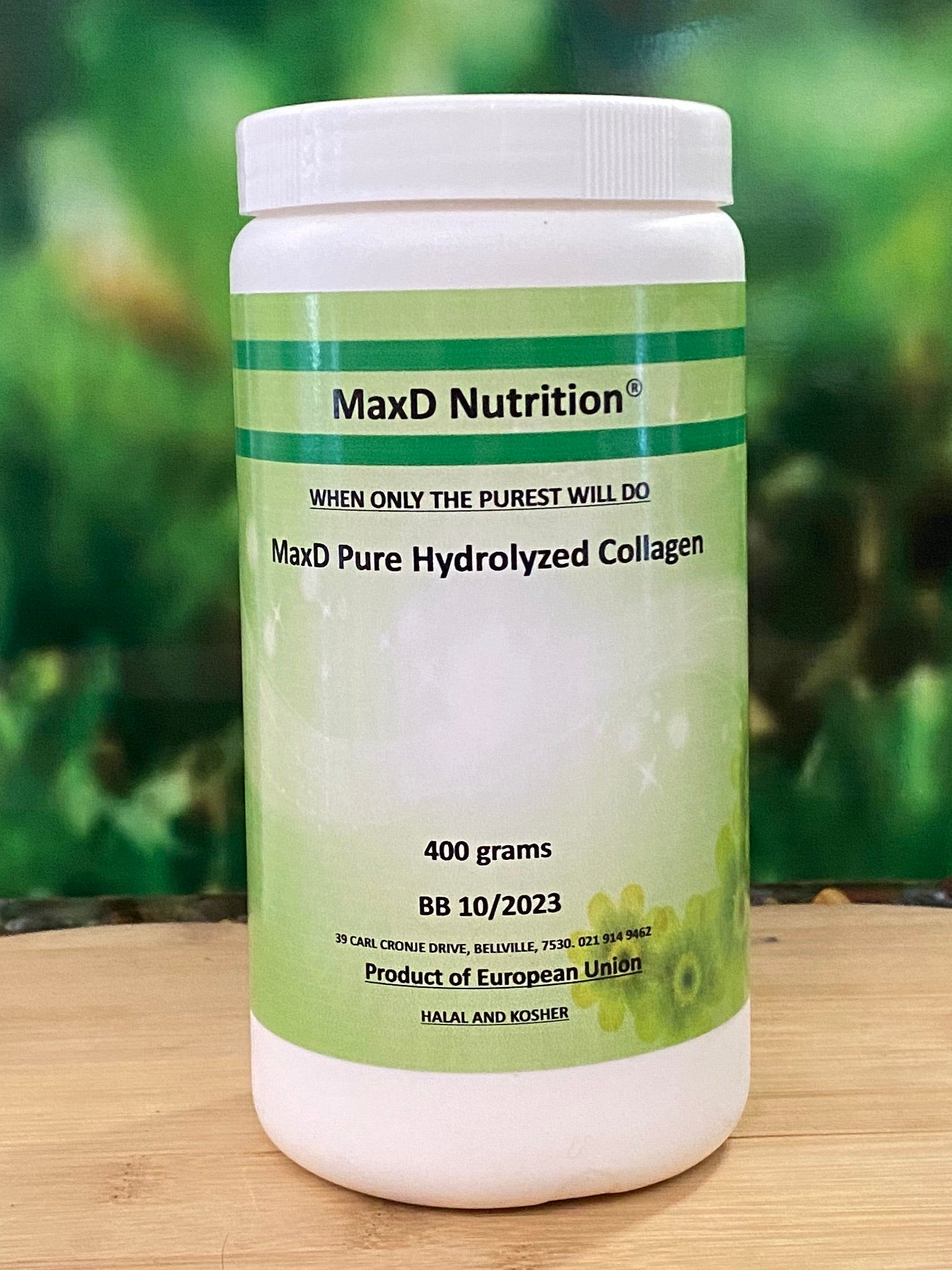 MaxD Pure Hydrolyzed Collagen 400g