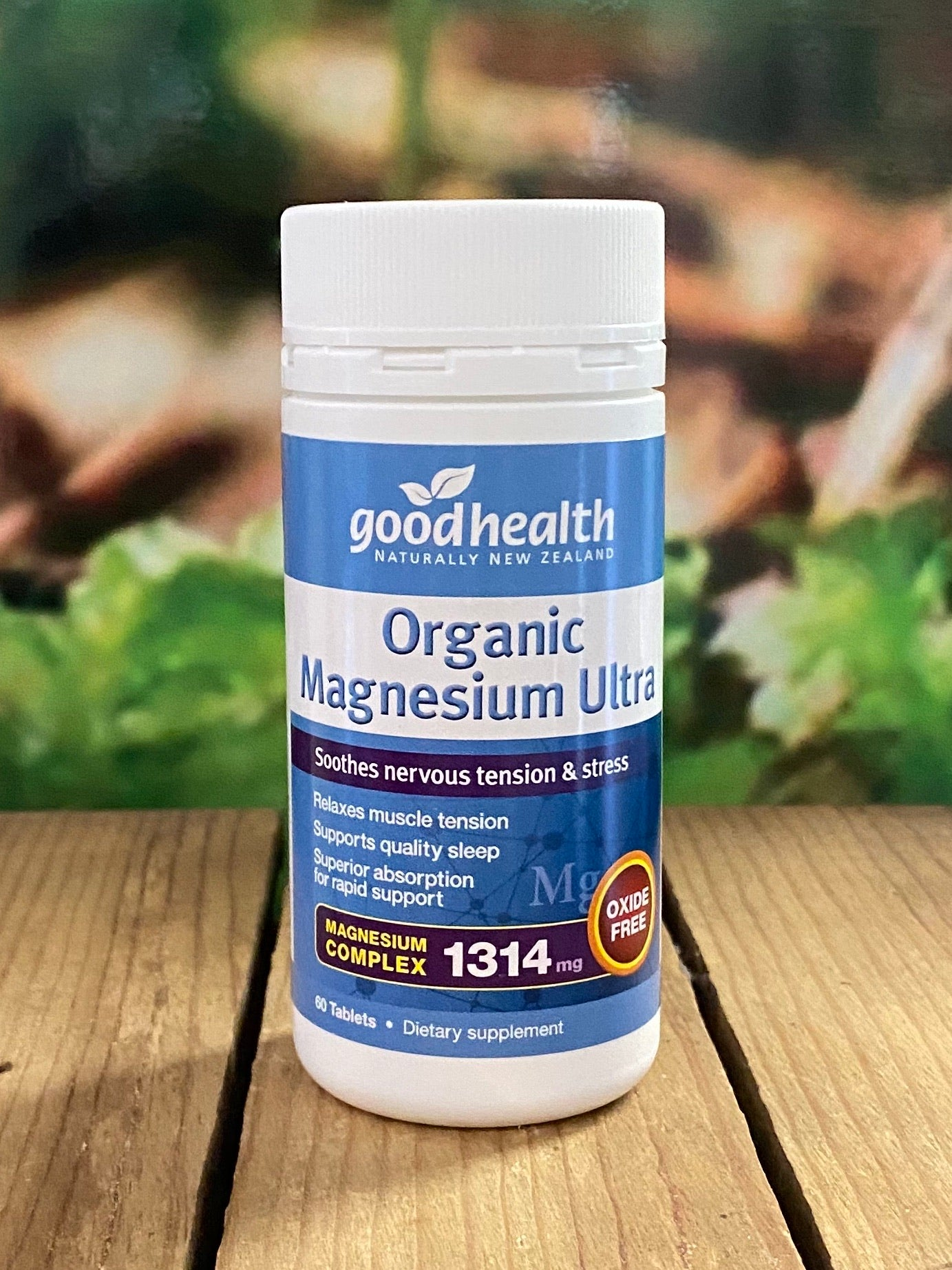Organic Magnesium Ultra 60 tablets