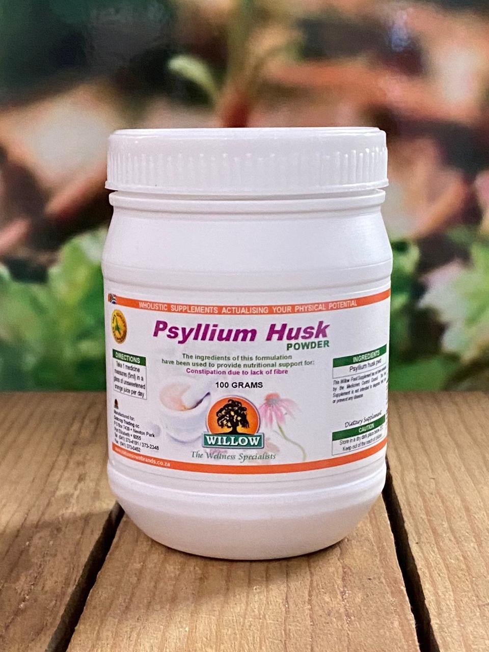 Willow Psyllium Husks  Powder 100g