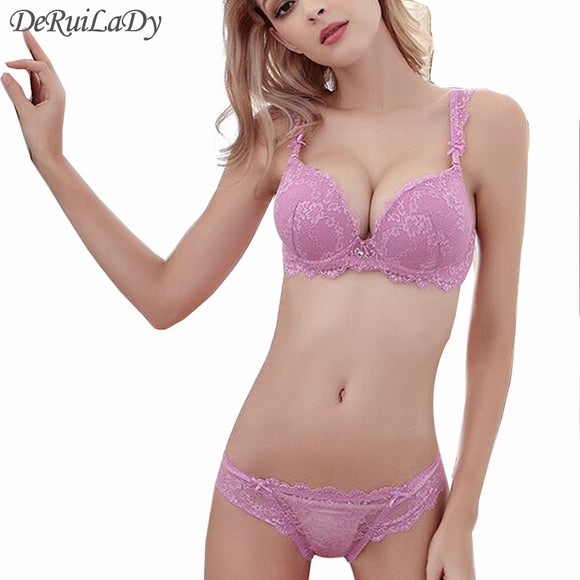9b4189d8da8 Luxury Lace Embroidery Push Up Sets