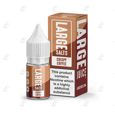 Large- Crispy Coffee Nic Salt