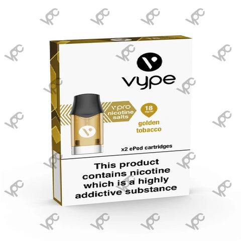 Vype ePod3- Golden Tabacco 18mg