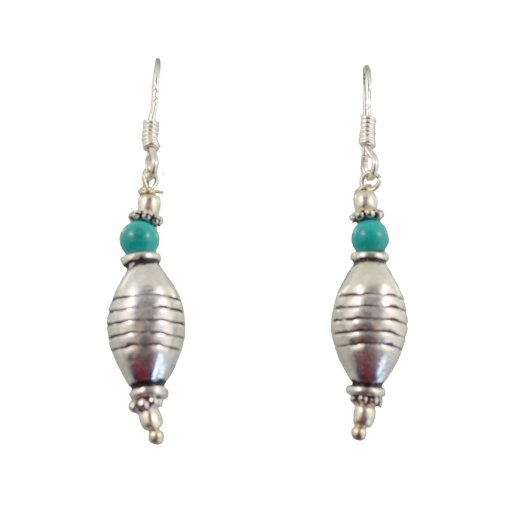 Aqua Swirl Earrings Himal International