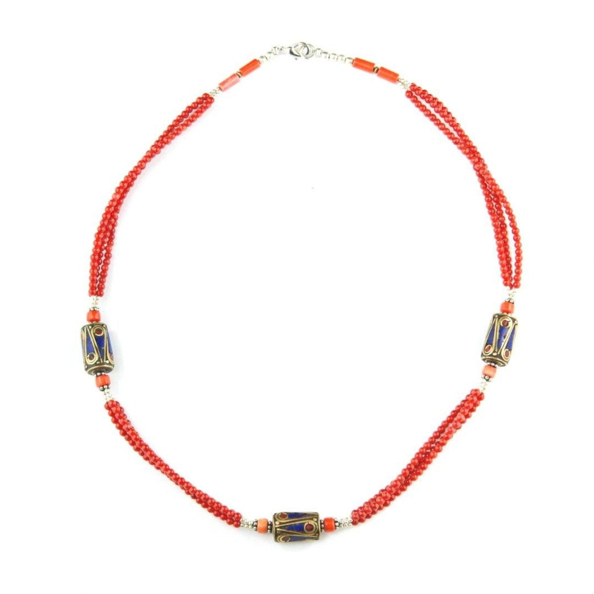 Gompa Necklace Tibet Craft Corner