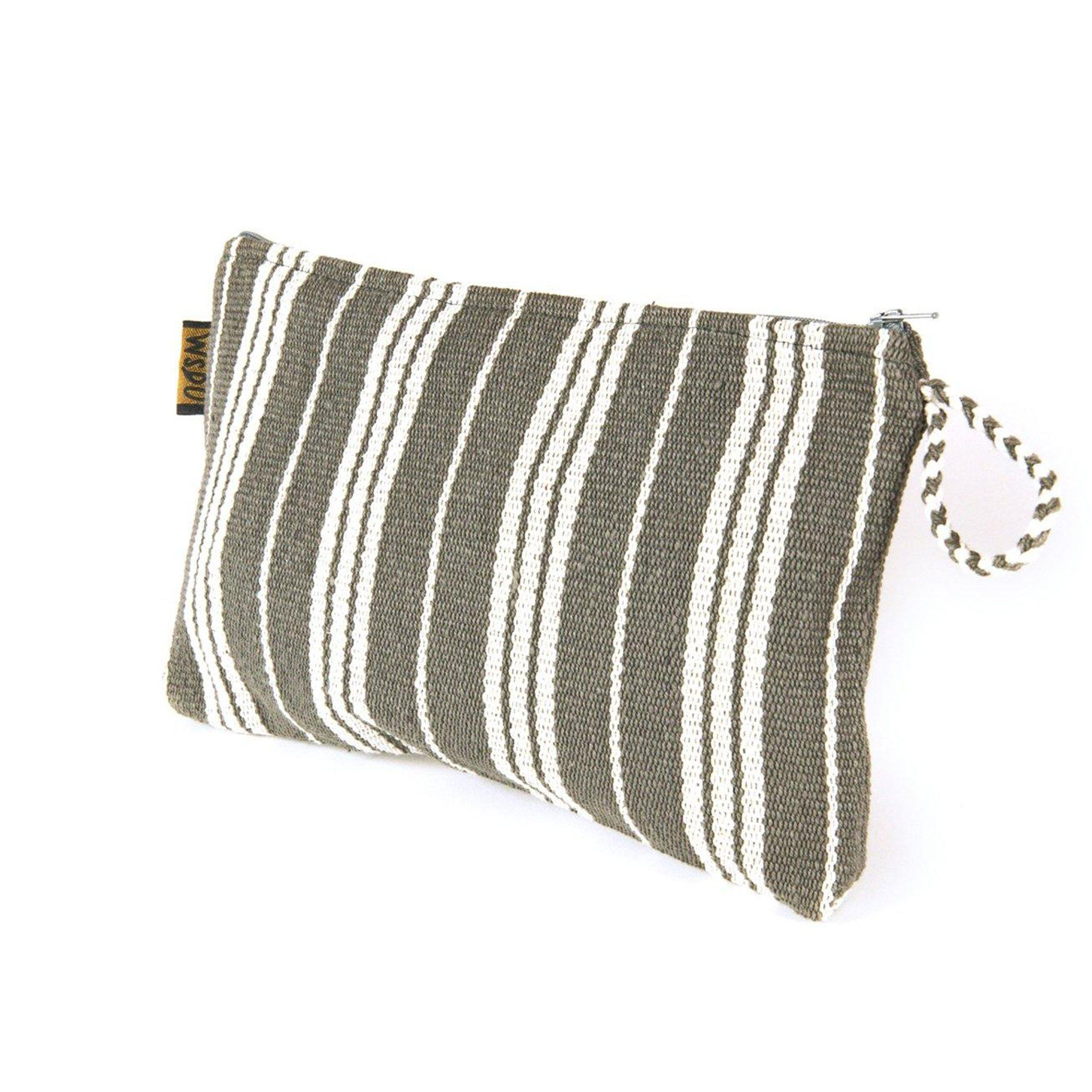 Grey Pouch Bag WSDP