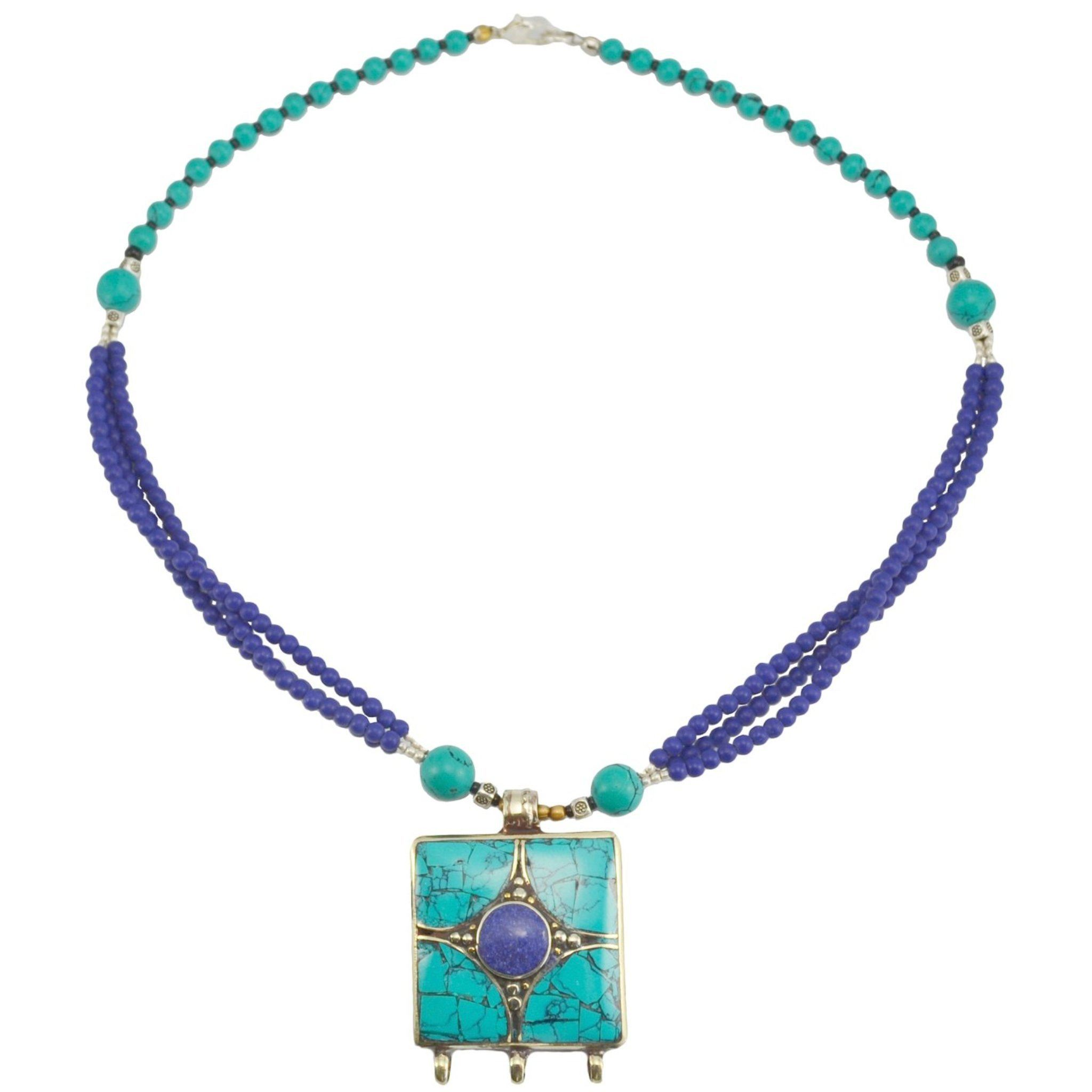Larkya Necklace Tibet Craft Corner