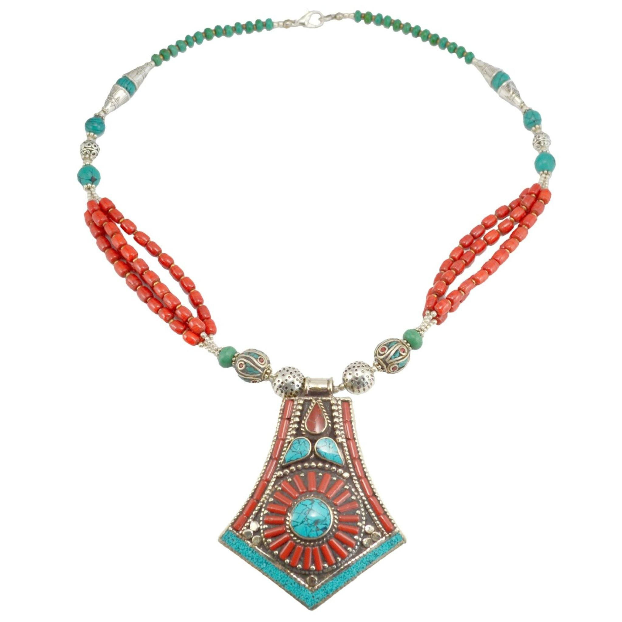 Makalu Necklace Tibet Craft Corner