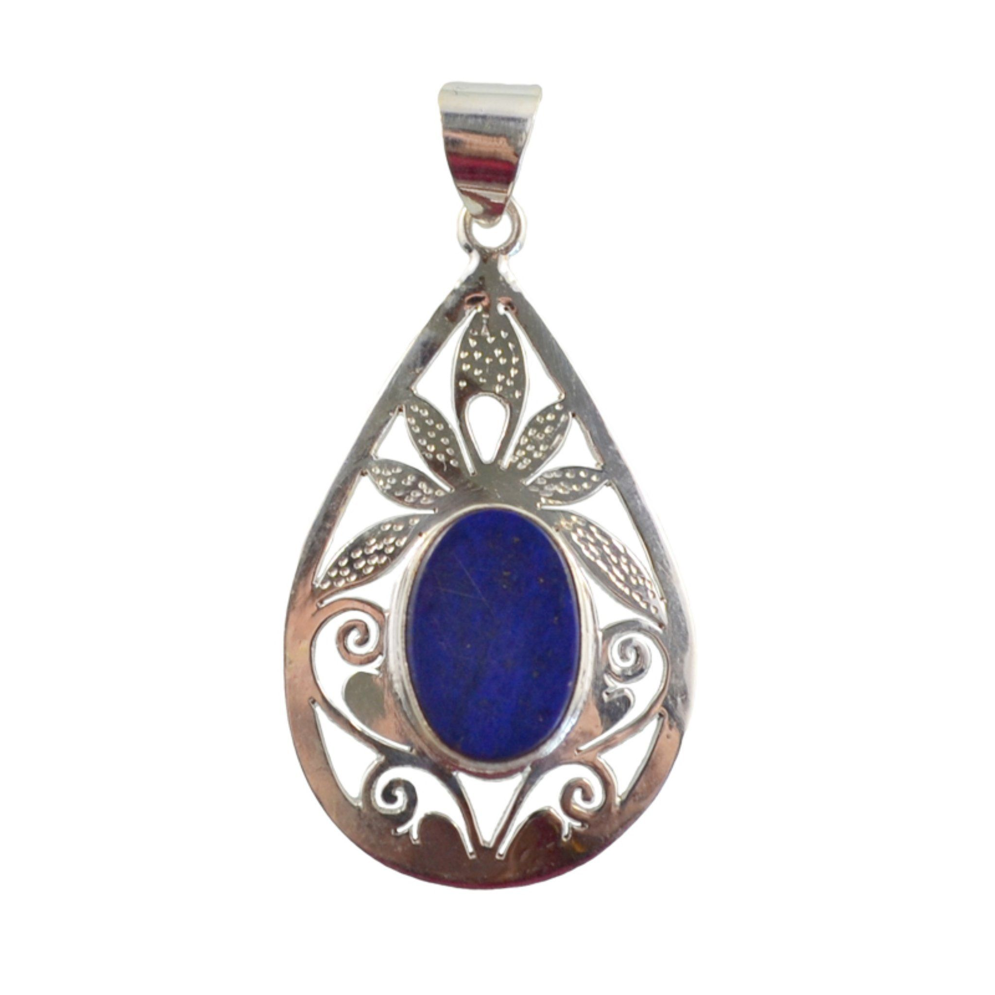 Navy Teardrop Pendant Pendant Himal International