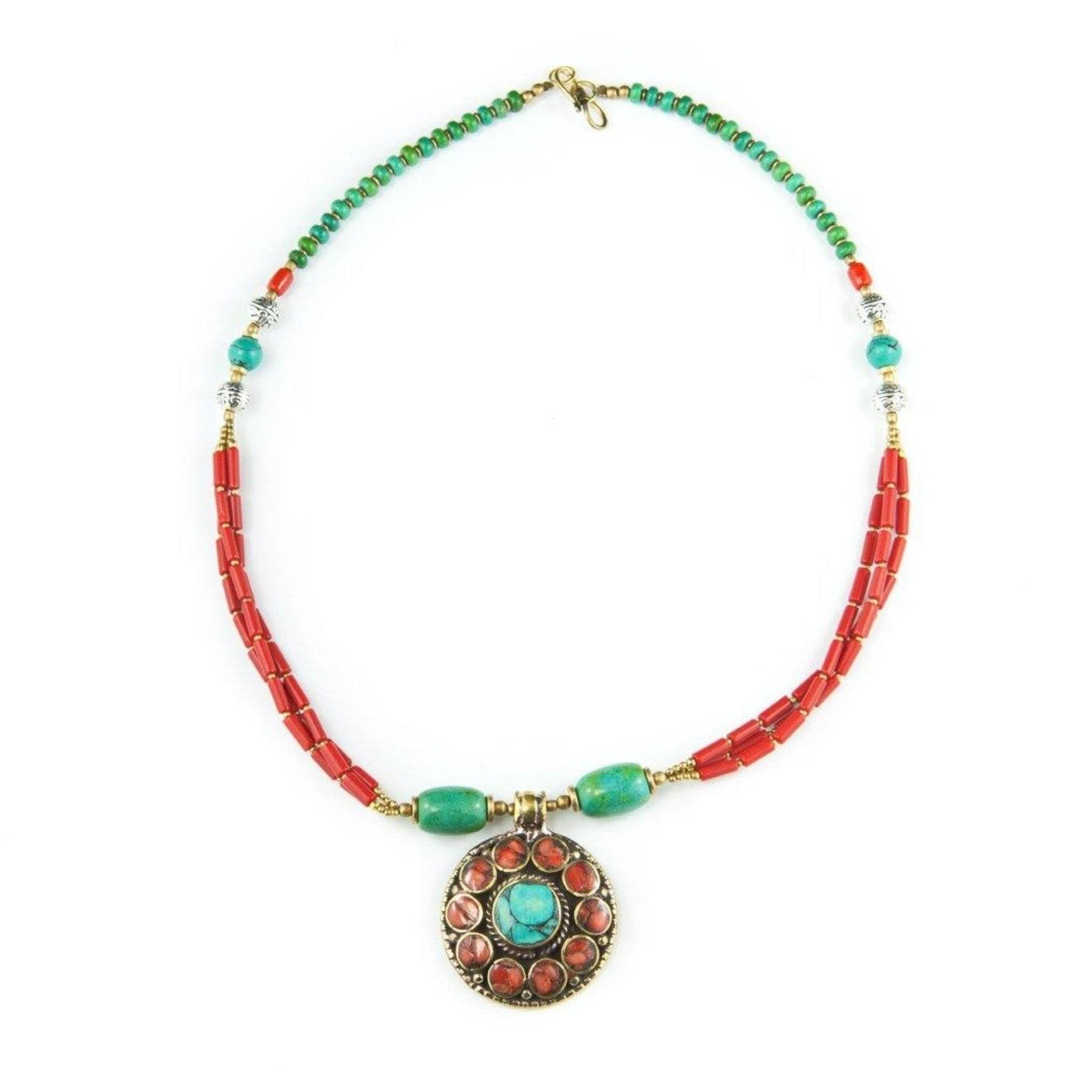 Parvat Necklace Tibet Craft Corner