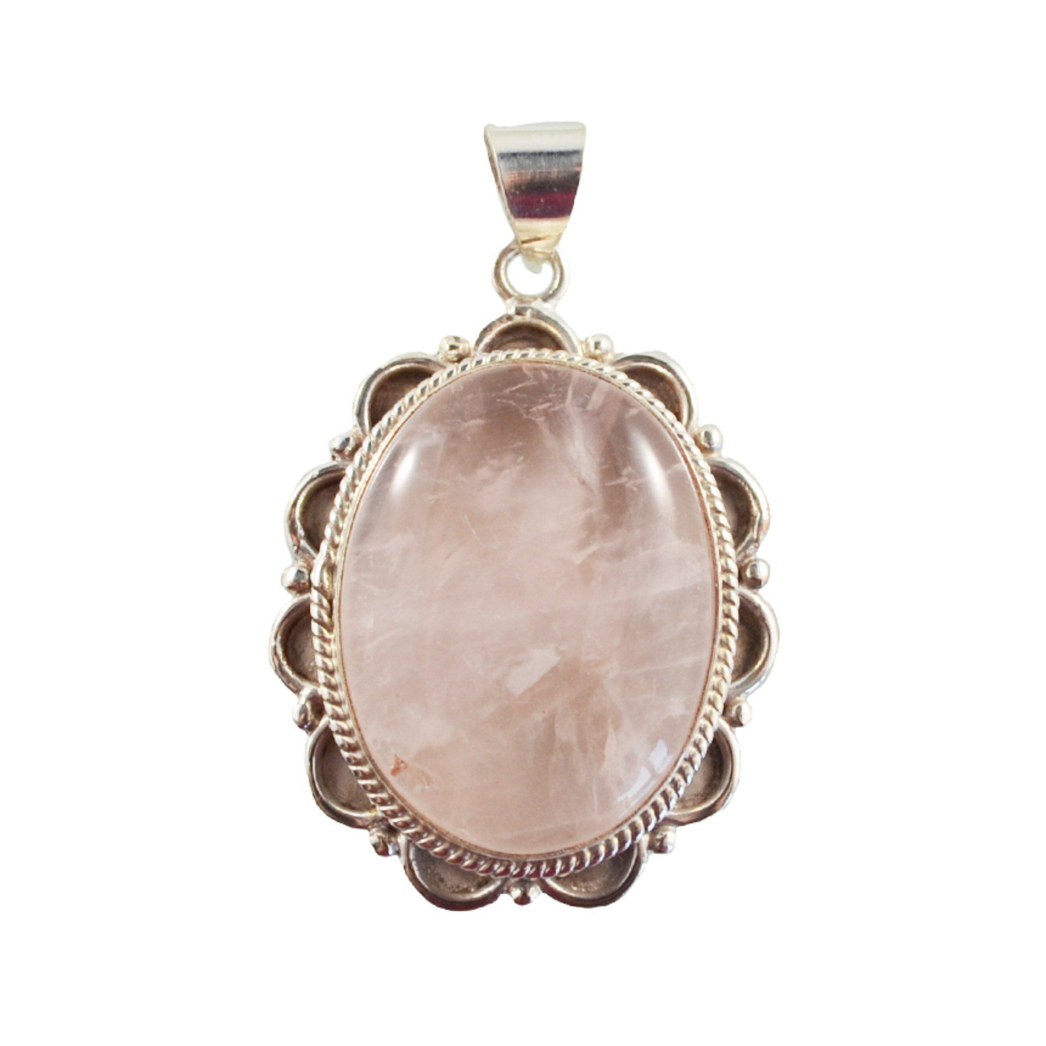 Pink Oval Pendant Himal International