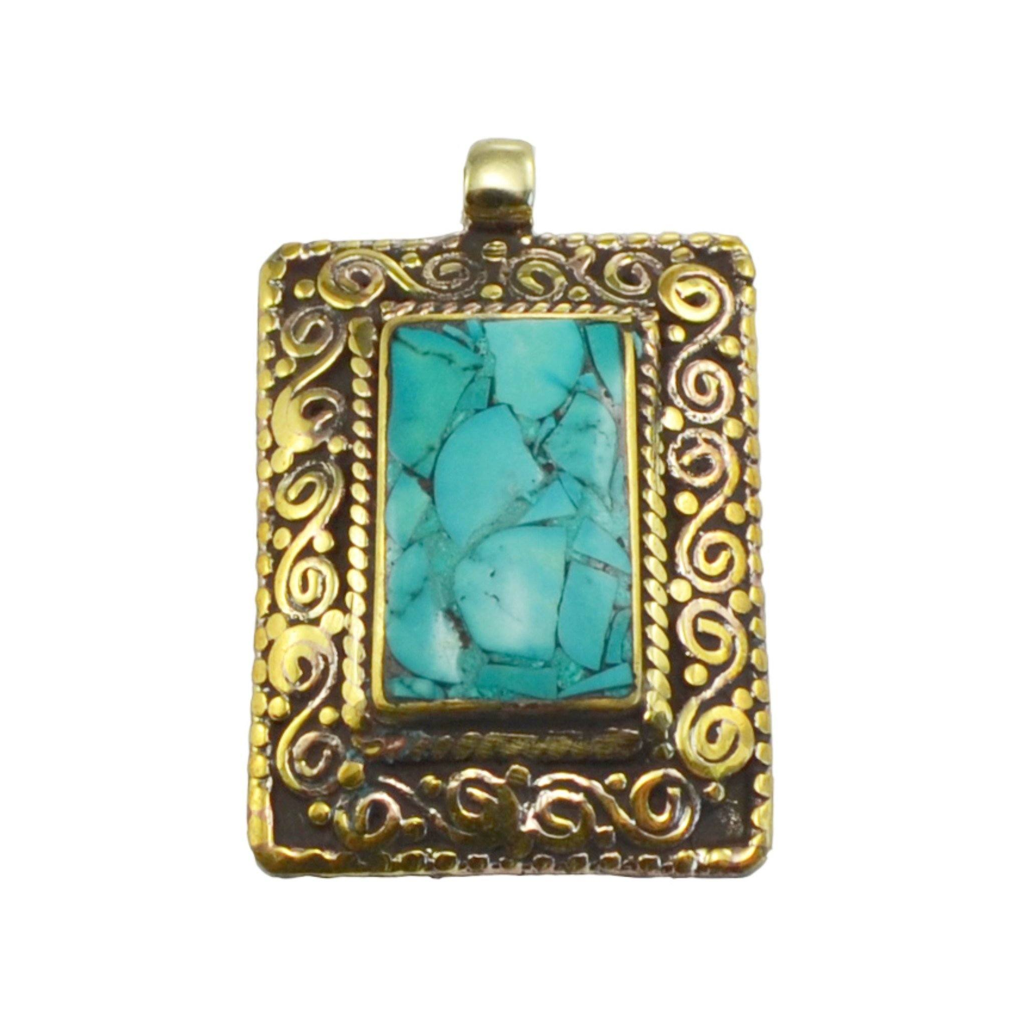 Sharda Pendant Tibet Craft Corner