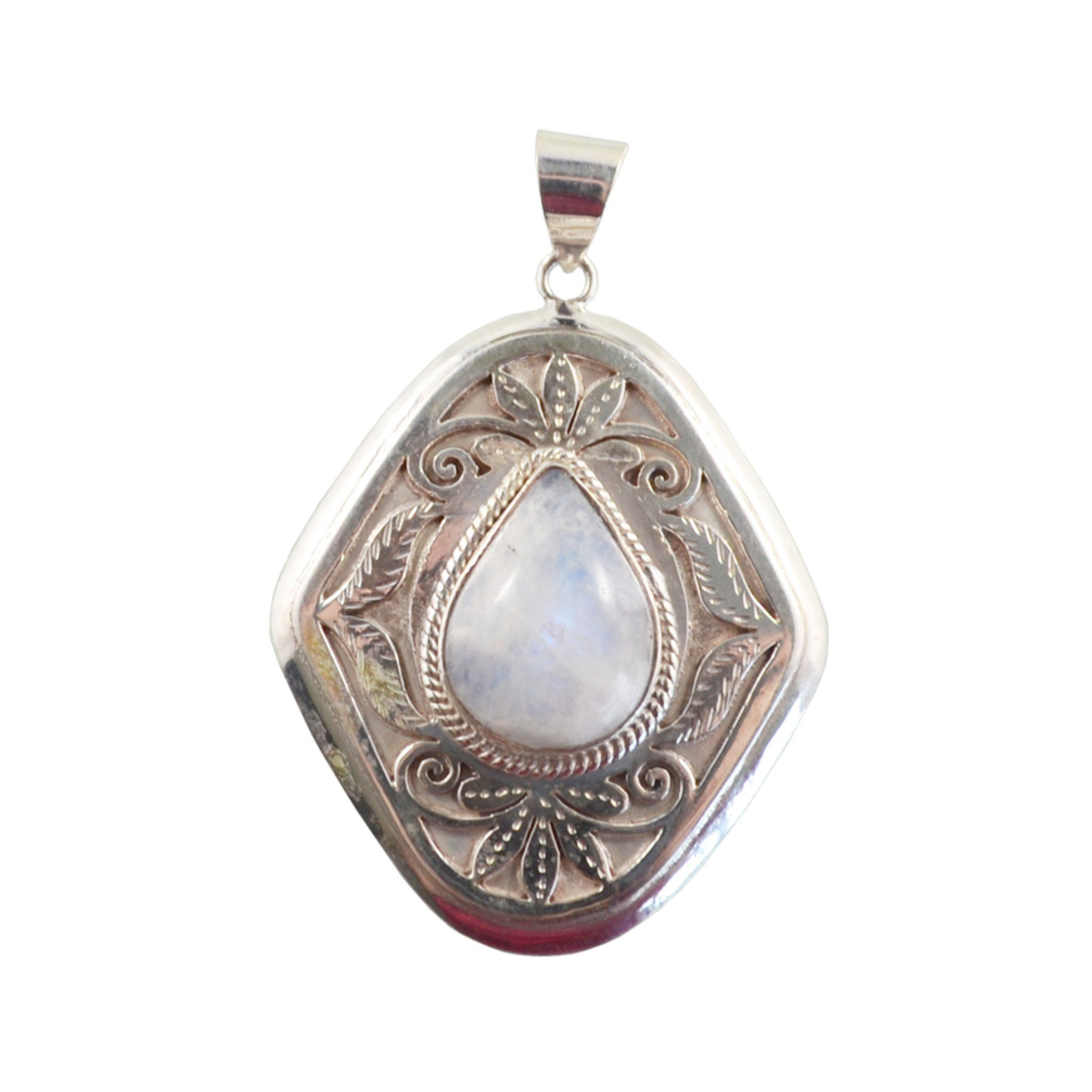 White Teardrop Pendant Himal International