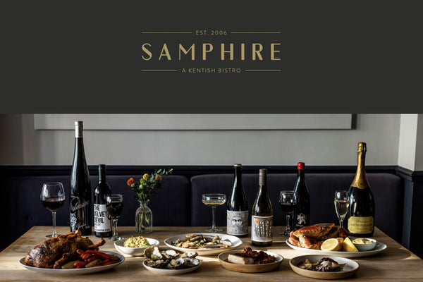 Samphire Seafood Tasting Menu<br>Thursday, 6th February 2020