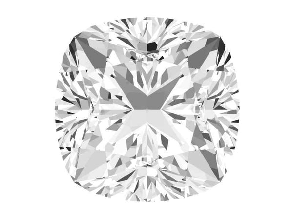 0.27 Carat Cushion Diamond I Color VVS1 Clarity