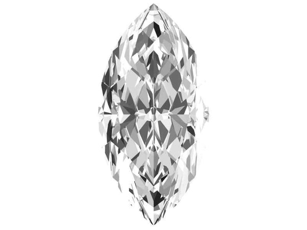 0.22 Carat Marquise Diamond J Color SI2 Clarity