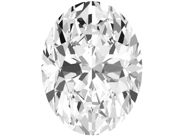 0.20 Carat Oval Diamond F Color SI2 Clarity