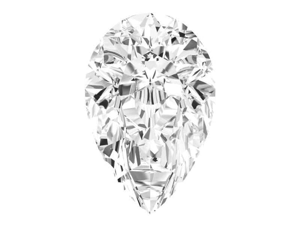 0.23 Carat Pear Diamond I Color VS2 Clarity