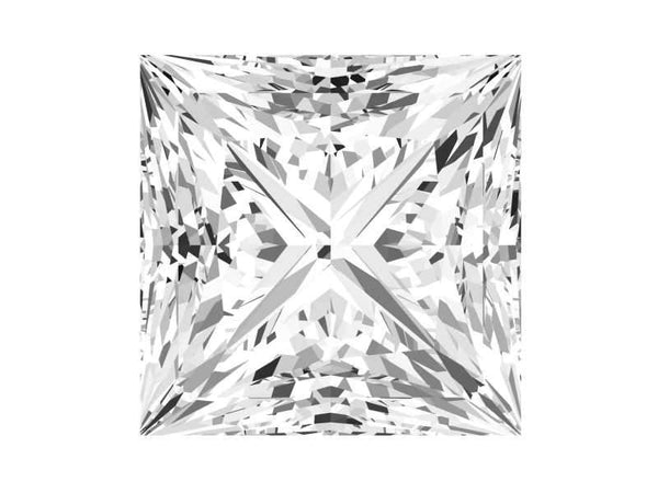 0.21 Carat Princess Diamond I Color VVS2 Clarity